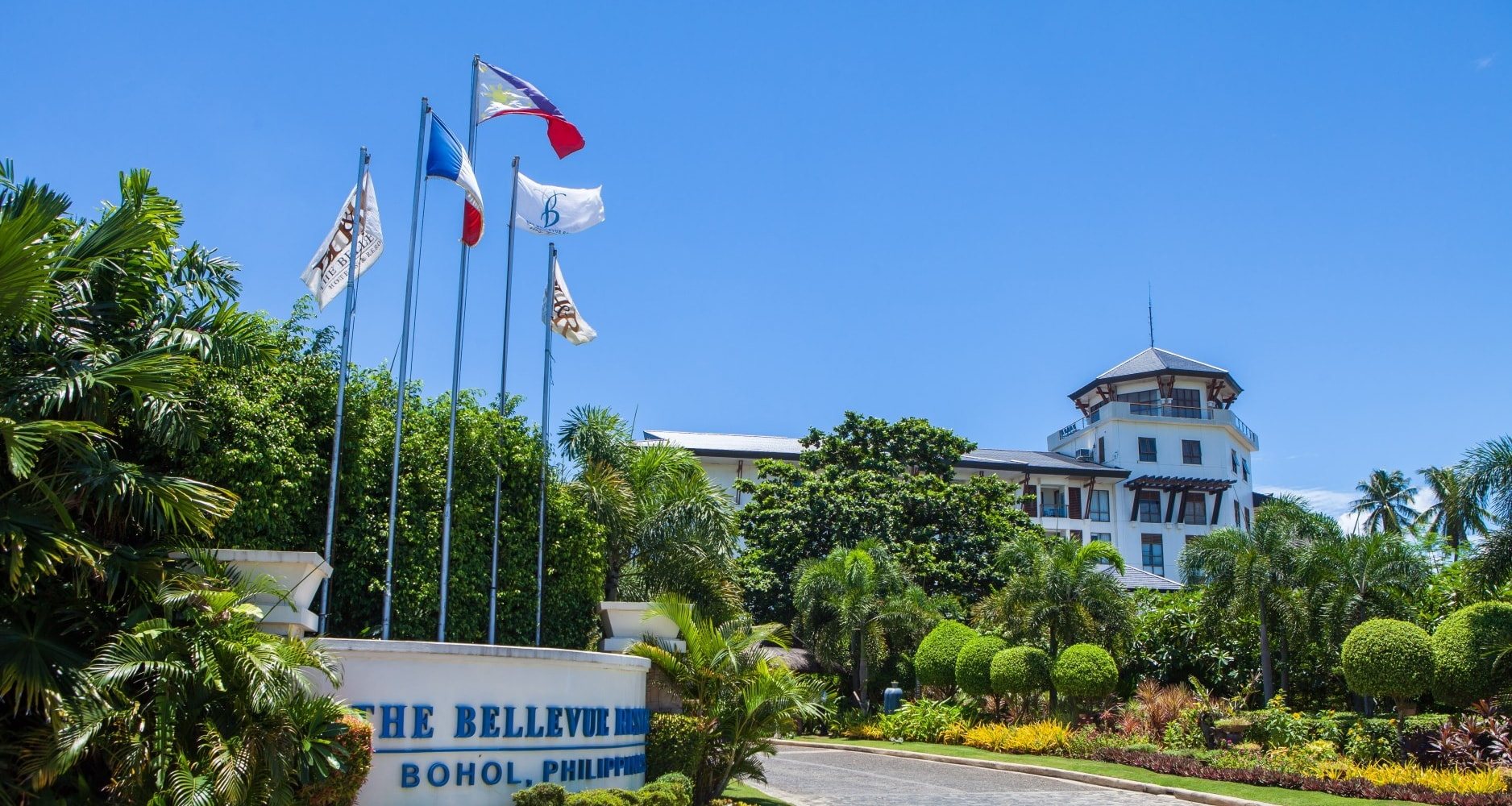 The Bellevue Resort in Bohol, Philippines - TBR contact us banner 01